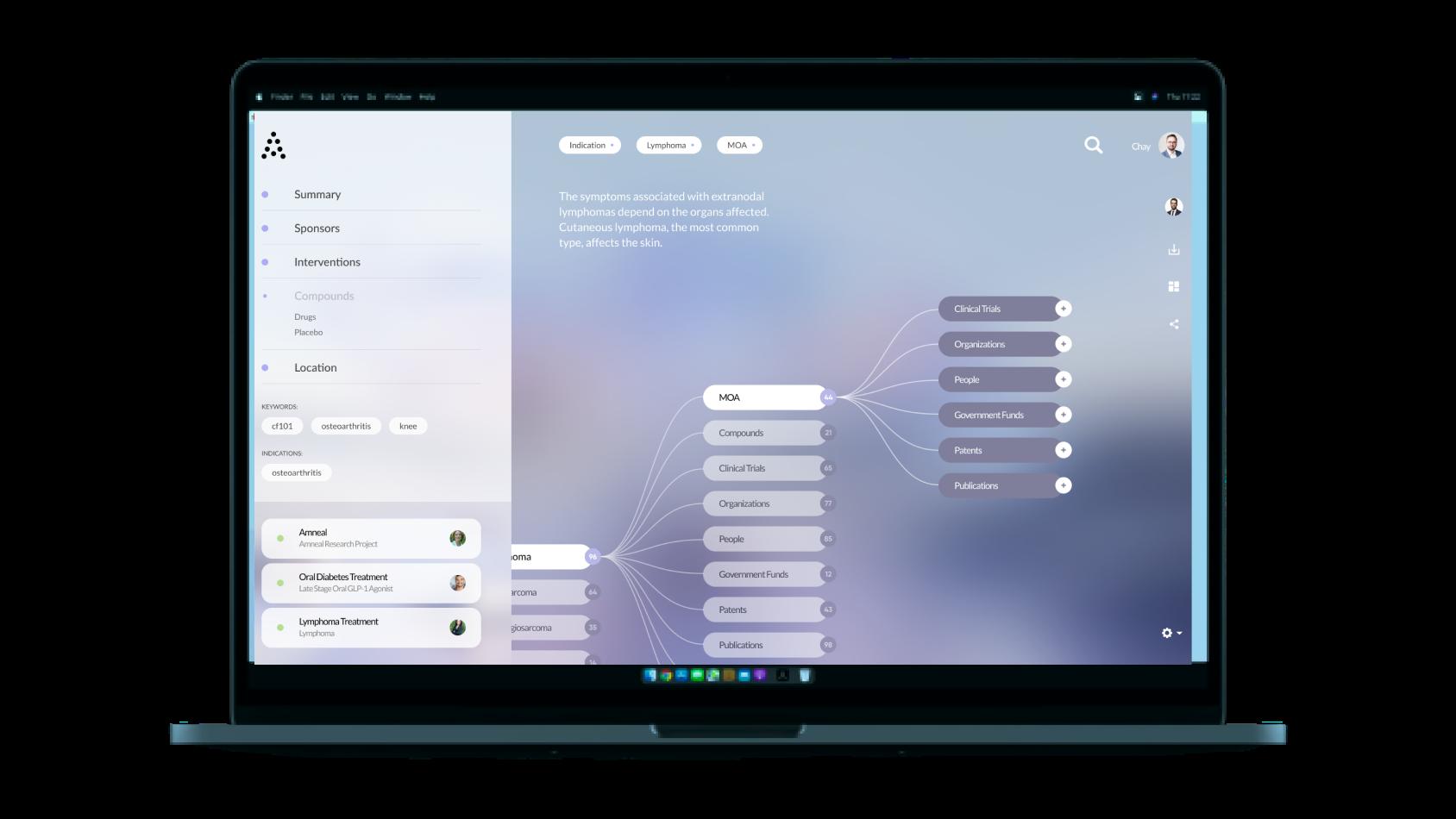 Anivive Select Platform Screenshot
